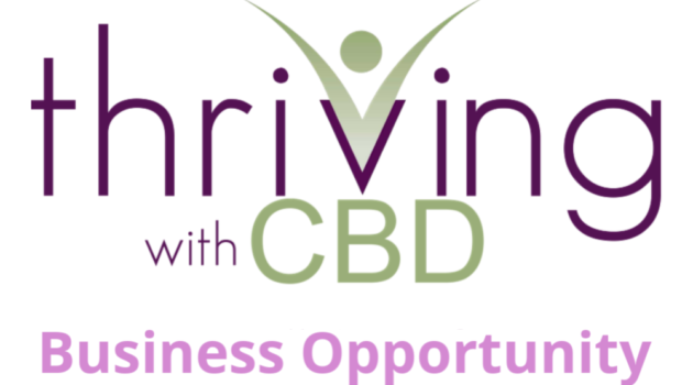 Thriving with CBD Business Opportunity Logo